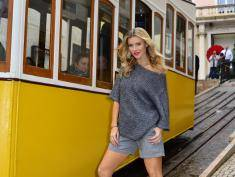 Lizbona/Portugalia 13.10.2014, Plan Top Model S04E12, N/z. Joanna Krupa Fot.: Rados³aw Nawrocki / TVN