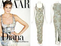 Słynna suknia księżnej Diany wystawiona na aukcję
