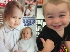 Ten dzieciak myśli, że jest księciem Jerzym! Podobny?