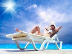 W wakacje uważaj ze słońcem!