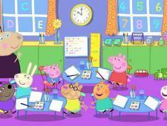 Świnika Peppa idzie do szkoły!