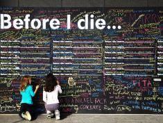 Zanim umrę chciałbym... No właśnie! Co chciałbyś?!