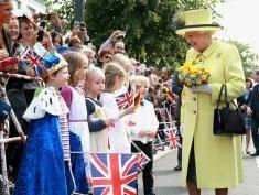 Dziewczynka zaprosiła królową na swoje urodziny!