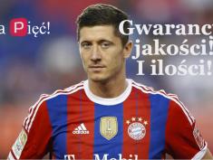 Robert Lewandowski i jego pięć goli!