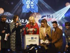 Oxford Street gotowa na Boże Narodzenie! Kylie Minogue zapaliła dekoracje