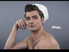 Ideał męskiego piękna na przestrzeni 100 lat. Kogo wybierasz?