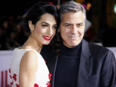 George Clooney i Amal na audiencji u Papieża Franciszka