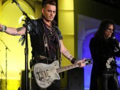 Johnny Depp obciął sobie palec i pisał własną krwią?