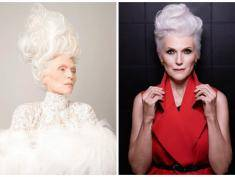 68-letnia modelka prawdziwą sensacją paryskiego Tygodnia Mody