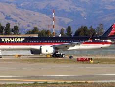 Ale luksus! Zobacz prywatny samolot Donalda Trumpa [wideo]