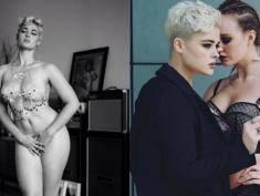 Seksowna modelka XXL jest biseksualna?