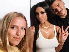 Komu selfie, komu! Ile polska szafiarka Jessica Mercedes zapłaciła za selfie z Kim Kardashian?