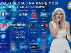 Już dzisiaj Kasia Moś walczy w półfinale Eurowizji!