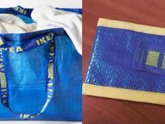 Zobacz co da się zrobić z niebieskiej torby z IKEI!