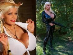 Kobieta z największymi piersiami Europy chce mieć też największe pośladki