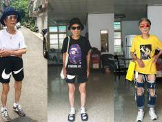 """88-latka jest ikoną miejskiego stylu na... Tajwanie! """"Może powinnam sobie zrobić tatuaż?"""""""