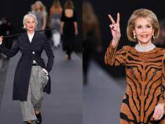 Paryski tydzień mody: najbardziej błyszczała Jane Fonda i Helen Mirren!