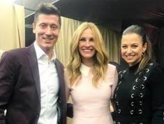 Julia Roberts zaprosiła Lewandowskich na wspólną kolację!
