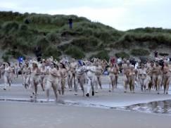 Nudyści opanowali angielską plażę