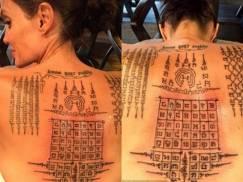 Mistyczne tatuaże Brada i Angeliny. Miały związać małżeństwo na zawsze