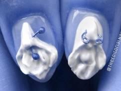 Najnowszy trend w manicure -  paznokcie jak wagina