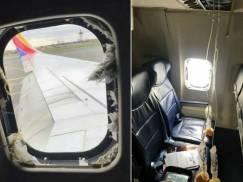 Pasażerowie samolotu przeżyli chwile grozy. W czasie loty wypadło okno!