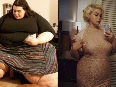 Niesamowite metamorfozy przed i po przejściu na dietę!