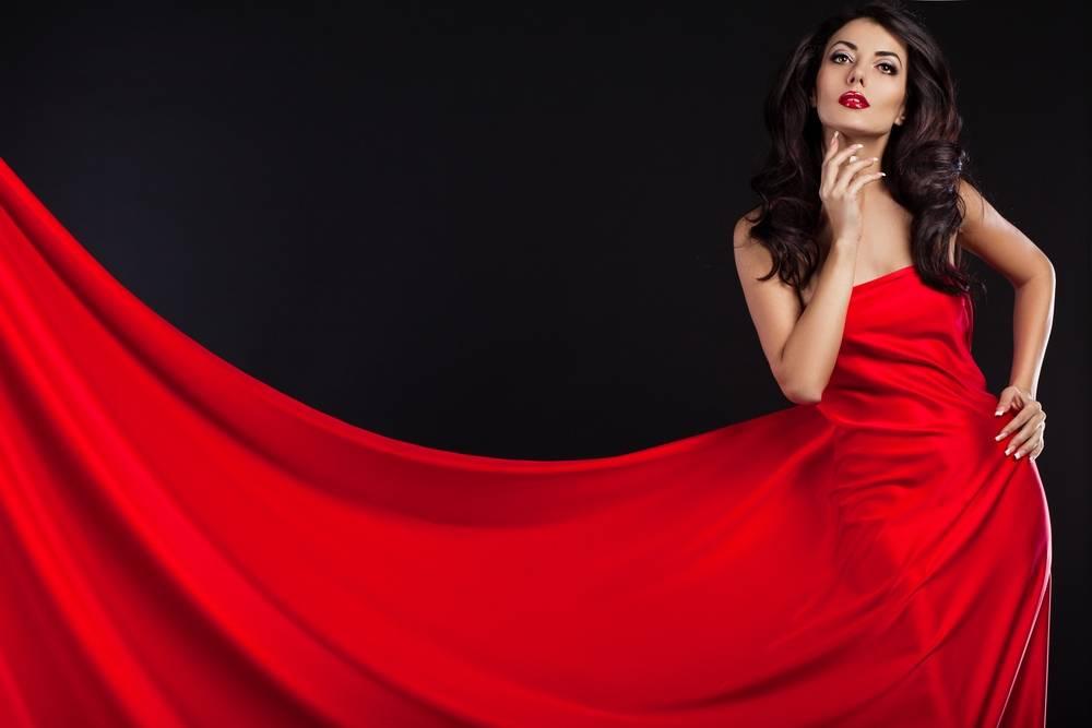 Lady in red, czyli kobiety kochają czerwień!