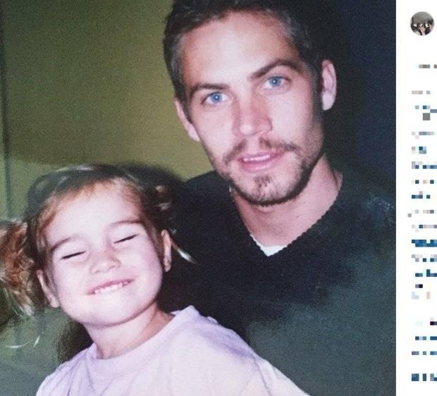 Zdjęcia Paula Walkera z córką. Wzruszające wspomnienie!