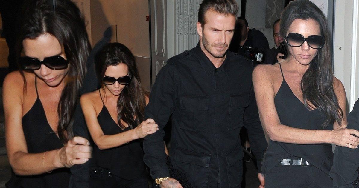 Victoria Beckham posikała się na własnej imprezie!