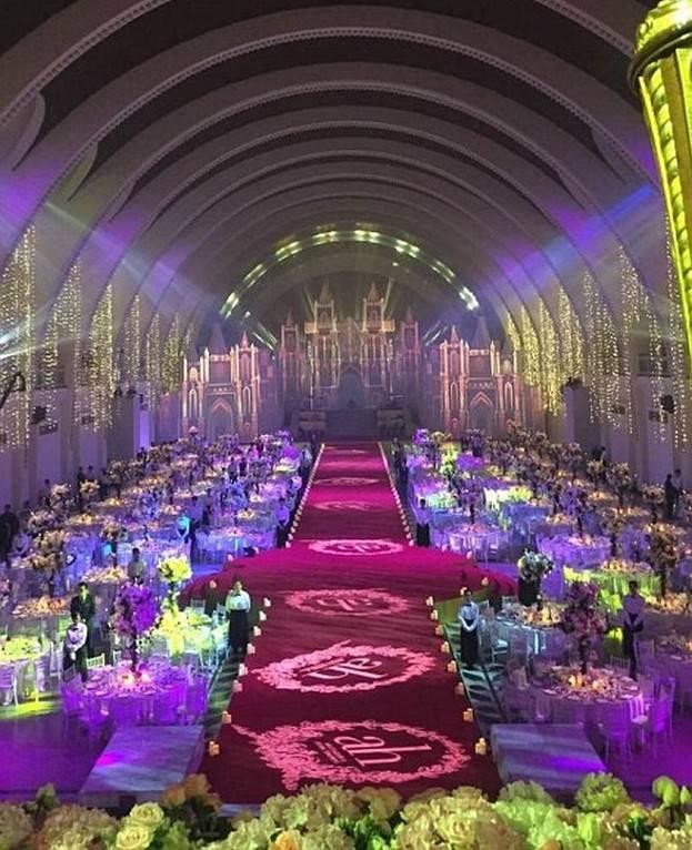 2 tysiące gości na ślubie? Wystarczy wydać 30 mln dolarów!