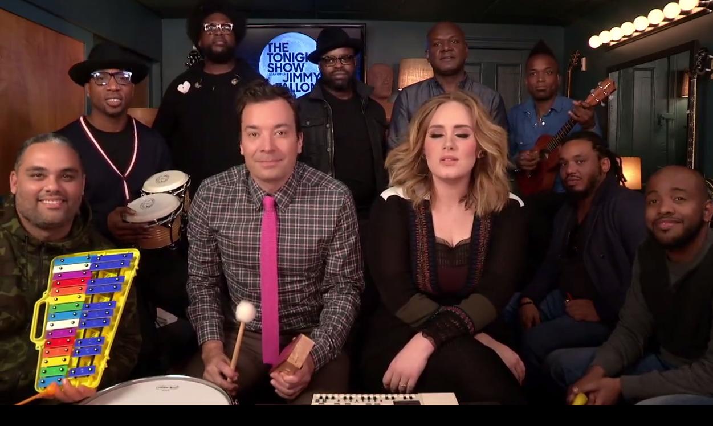 Jimmy Fallon ulepszył piosenkę Adele!