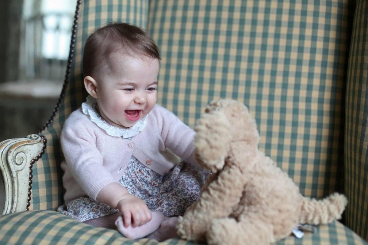 Księżniczka Charlotte w obiektywie księżnej Kate
