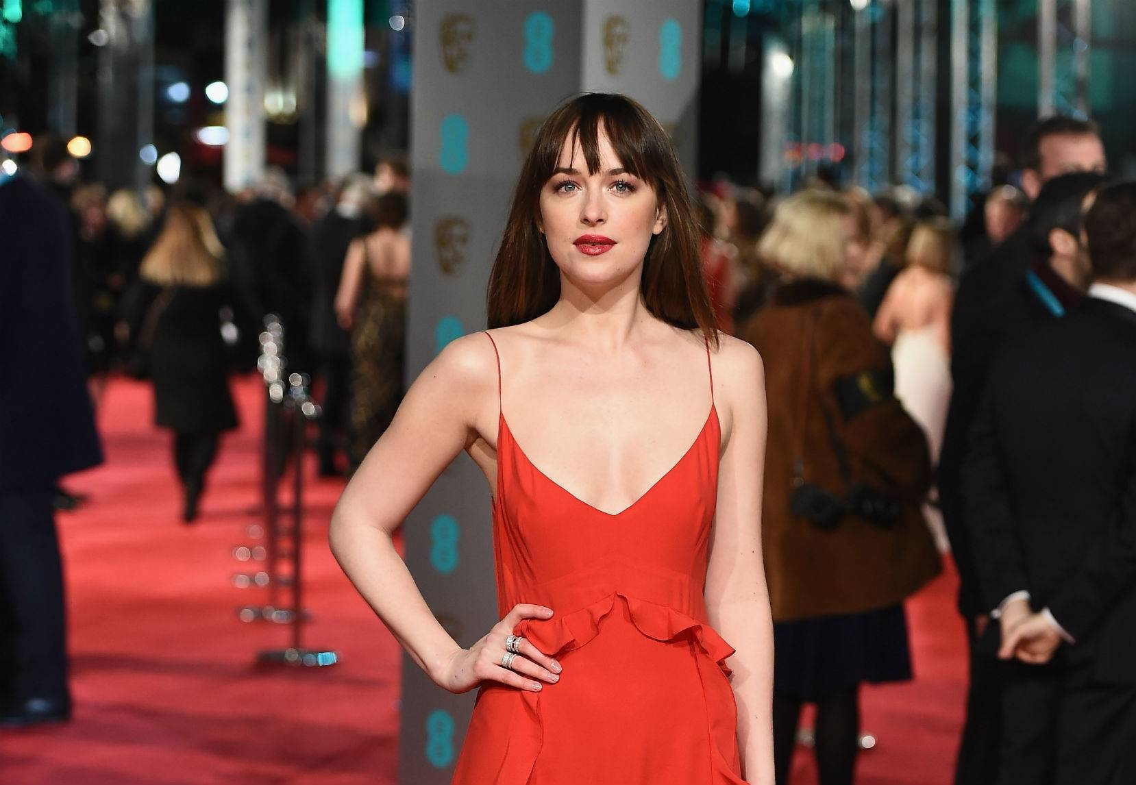 BAFTA 2016  w kolorze miłości