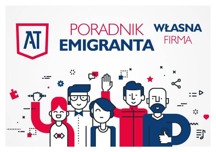 """Poradnik emigranta """"Własna firma"""" jest już dostępny!"""