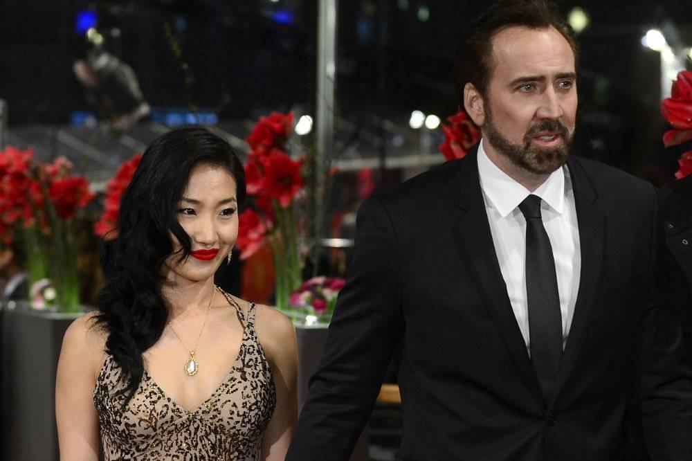 Nicholas Cage i Alice Kim w separacji