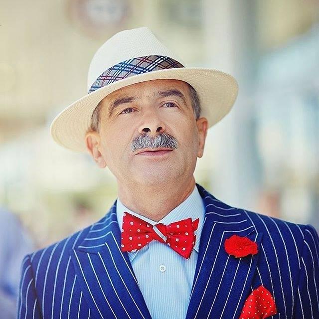 63-letni polski bloger podbija świat mody!