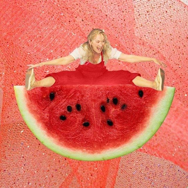 Meryl Streep jako pizza, sushi czy lód w czekoladzie? Zabawne czy żenujące?