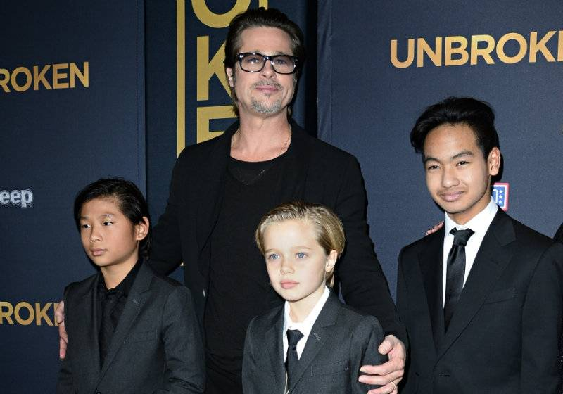 Angelina chce utrudnić Bradowi widzenia z dziećmi?