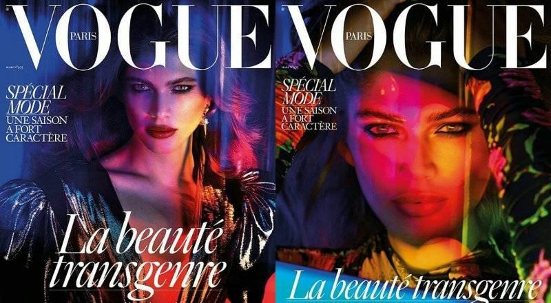 """Transpłciowa modelka na okładce """"Vogue"""". Oto nowy ideał piękna?"""