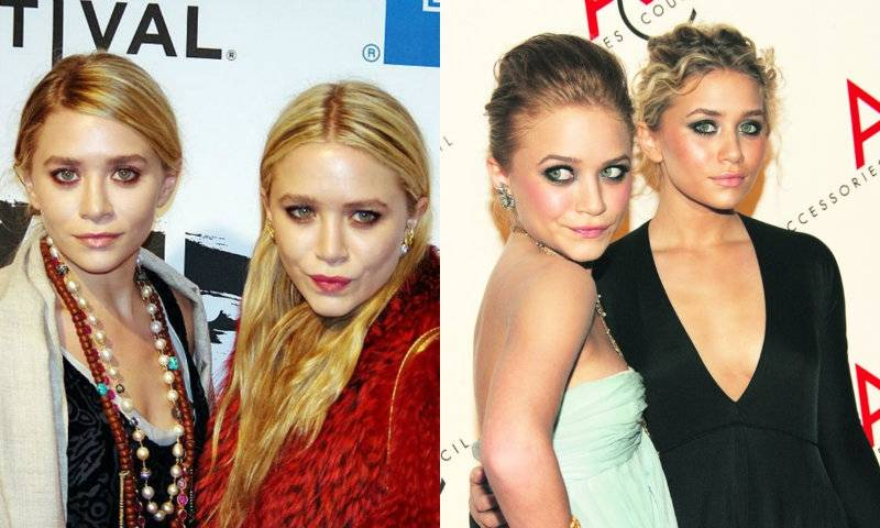 Mary-Kate i Ashley Olsen: bliżniaczki w stylu luksusowego grunge