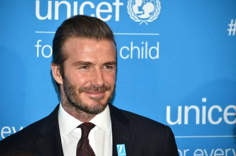 Dobroczynność Davida Beckhama jest tylko na pokaz?