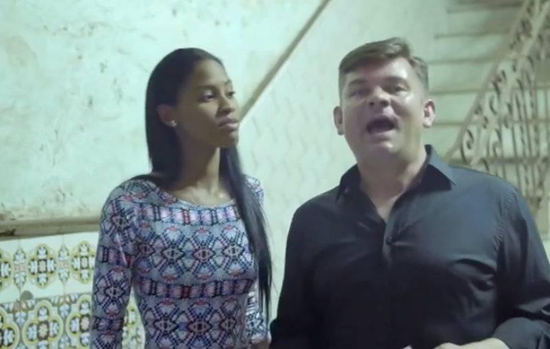 Zenek Martyniuk śpiewa po hiszpańsku z piękną Kubanką