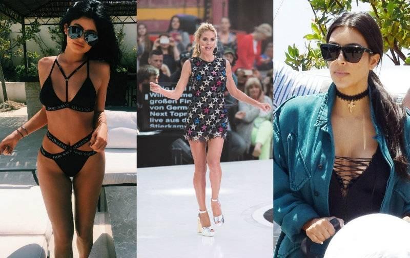 Gwiazdy kochaja polskie marki! Zobacz czyje ubrania noszą Kardashianki?