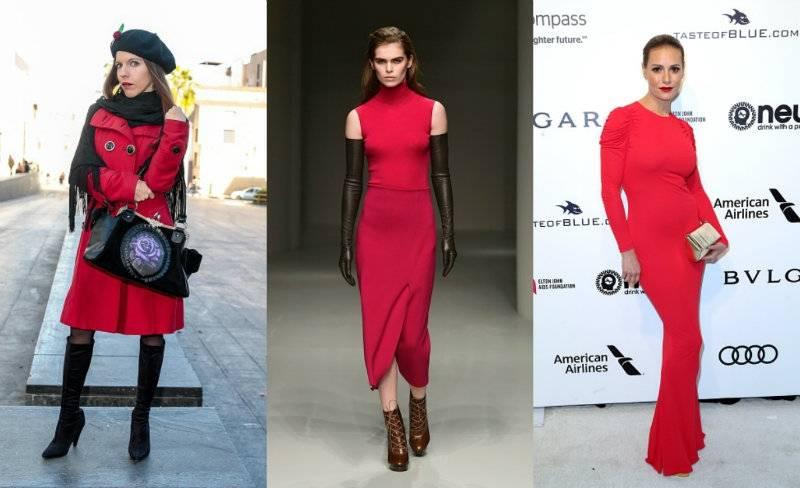 Zostań tej wiosny Lady in Red