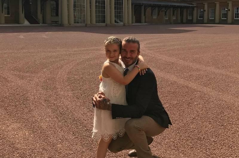 Córka Beckhamów obchodziła urodziny w...Pałacu Buckingham! Rodzice powiększają swoje wpływy?