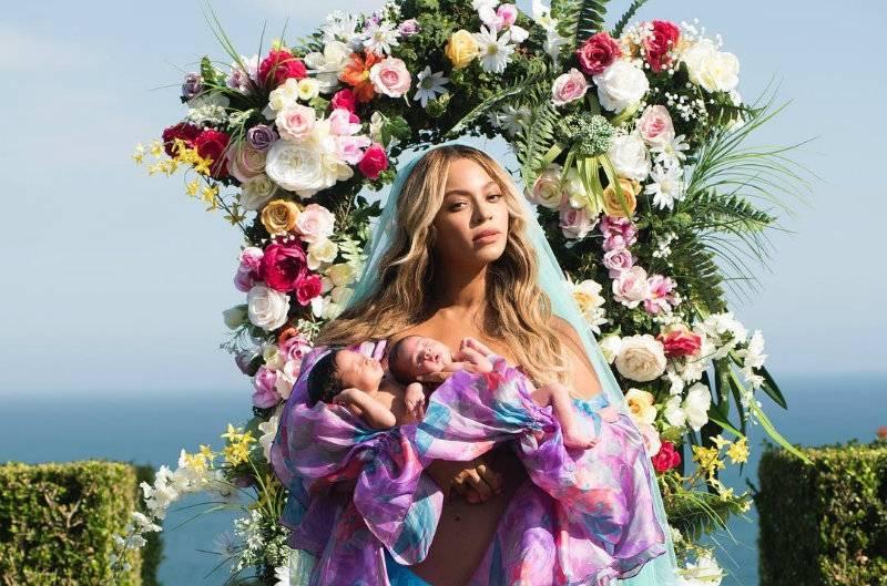 Beyonce pokazała po raz pierwszy swoje dzieci!