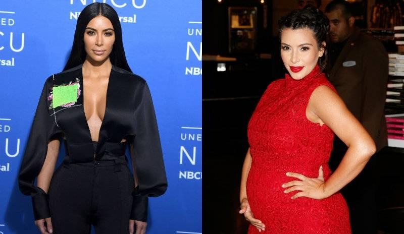 Kim Kardashian będzie miała trzecie dziecko... nie będzie go jednak rodzić?