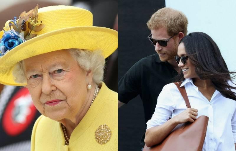 Książę Harry i Meghan Markle poszli na herbatkę do królowej Elżbiety!
