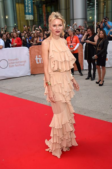 "TORONTO, ON - SEPTEMBER 10: Actress Naomi Watts attends the ""Demolition"" premiere and opening night gala during the 2015 Toronto International Film Festival at Roy Thomson Hall on September 10, 2015 in Toronto, Canada. (Photo by Jason Merritt/Getty Images)"